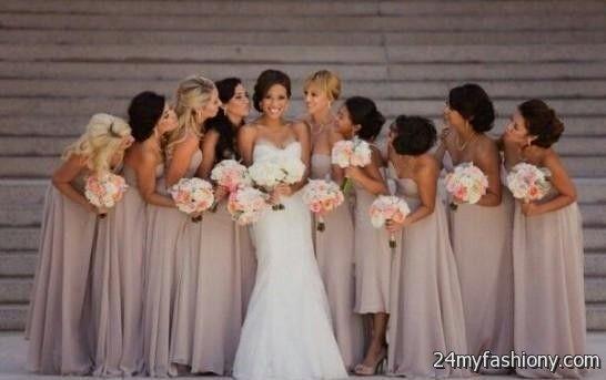 light taupe bridesmaid dresses 2016-2017 » B2B Fashion