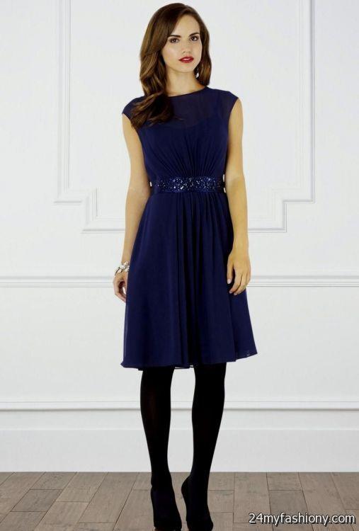 navy blue bridesmaid dress with pockets 2016-2017 » B2B Fashion