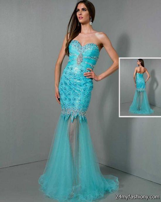 neon blue prom dresses 2016-2017 » B2B Fashion