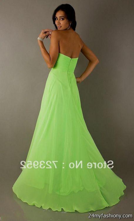 pretty lime green prom dresses 2016-2017 » B2B Fashion