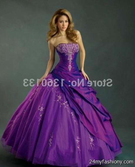 purple ball gowns masquerade 2016-2017 » B2B Fashion