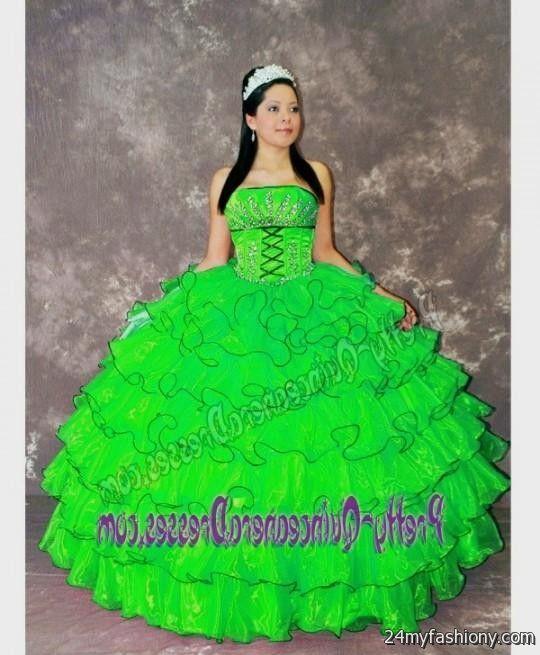 quinceanera dresses lime green 2016-2017 » B2B Fashion