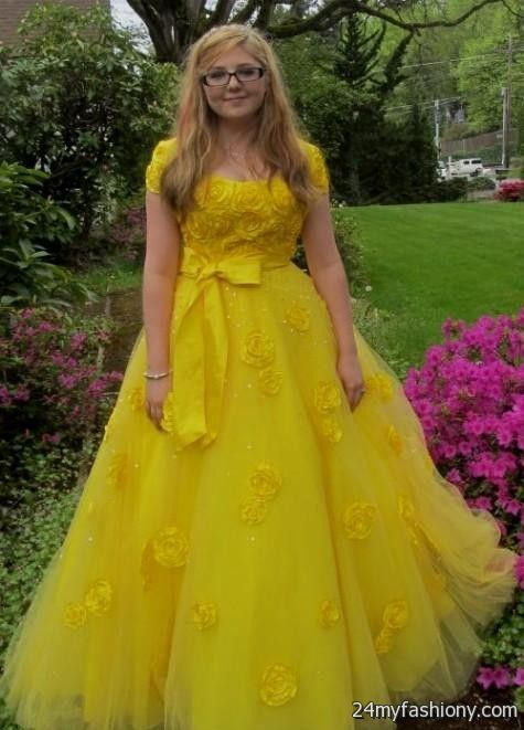 Yellow Dress Graduation