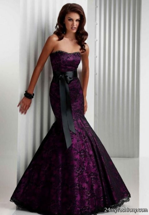 royal purple wedding dress 2016-2017 » B2B Fashion