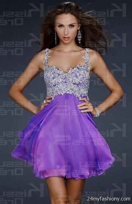 short prom dress with straps 2016-2017 » B2B Fashion