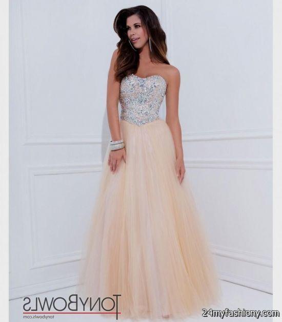 strapless champagne prom dresses 2016-2017 » B2B Fashion