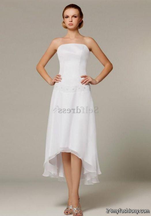strapless white summer dress 2016-2017 » B2B Fashion