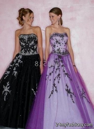 beautiful purple wedding dresses 2016-2017 » B2B Fashion