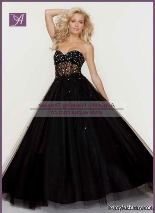 black and gold corset prom dresses 2016-2017 » B2B Fashion