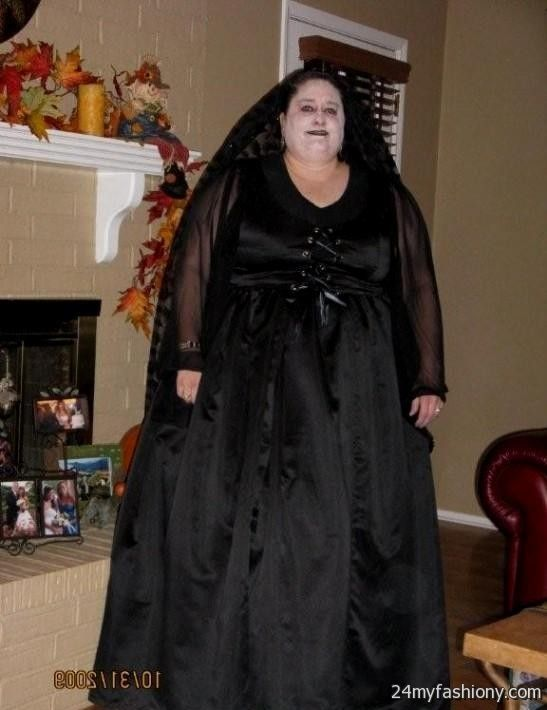 Plus Size Gothic Wedding Dress_Wedding Dresses_dressesss
