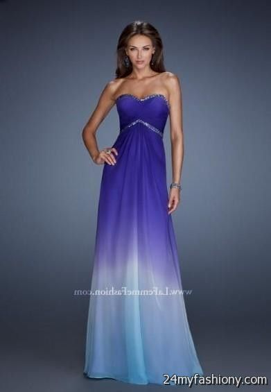 quinceanera dresses purple and blue ombre 2016-2017 » B2B Fashion