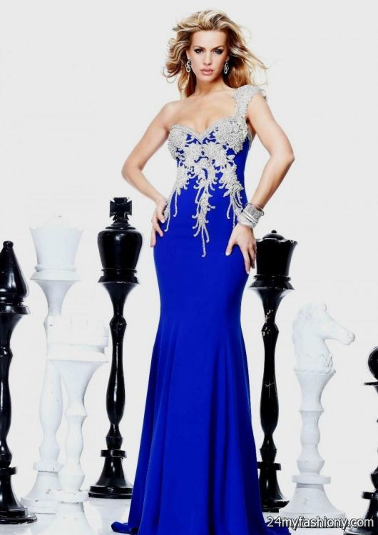royal blue mermaid prom dress tumblr 2016-2017 » B2B Fashion
