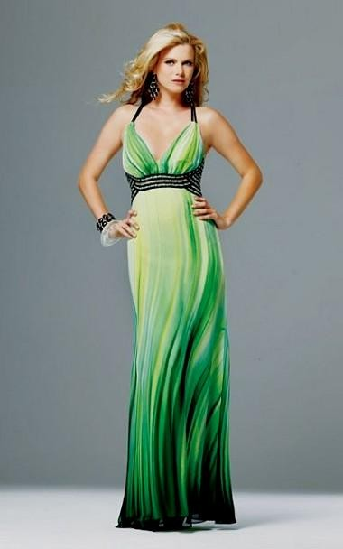green ombre wedding dress 2016-2017 » B2B Fashion