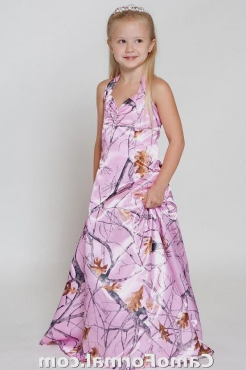 pink camo flower girl dresses 2016-2017 » B2B Fashion