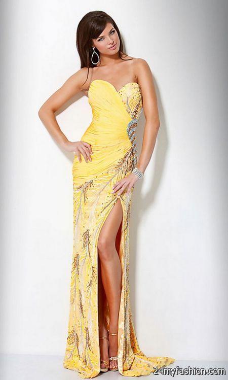 Yellow Dress Fall Wedding