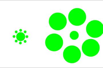 Иллюзия Эббингауза