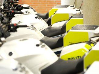 politi motorcykel motorcykler