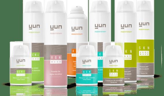YUN Probiotherapy introduceert huidverzorgingsproducten op basis van vriendelijke bacteriën