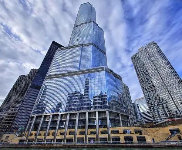 Отель-небоскреб Дональда Трампа в Чикаго