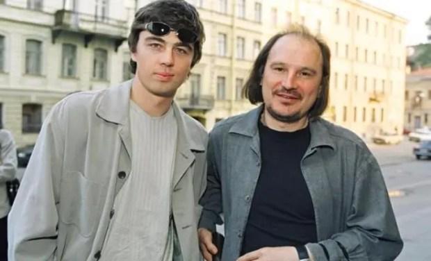 Сергей Бодров-младший и Алексей Балабанов
