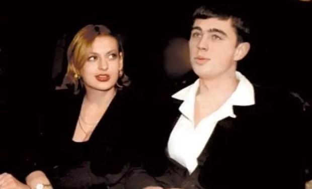 Сергей Бодров-младший с женой