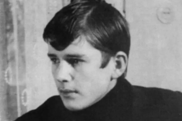Александр Абдулов в юности