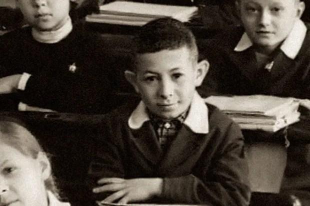Евгений Маргулис в детстве