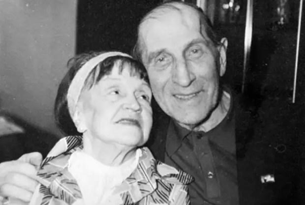 Сергей Филиппов с женой Антониной Голубевой