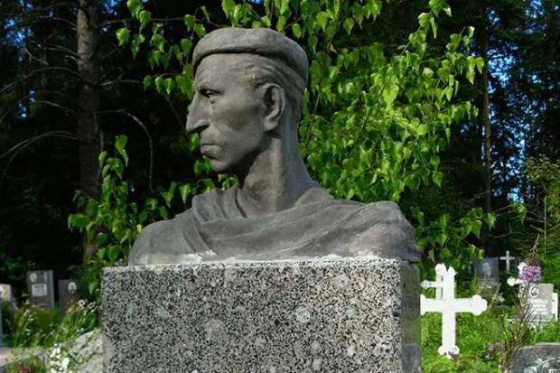 Могила Сергея Филиппова