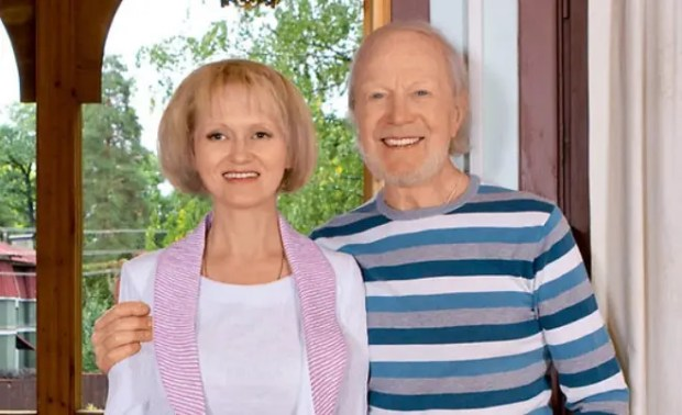 Альберт Филозов с женой