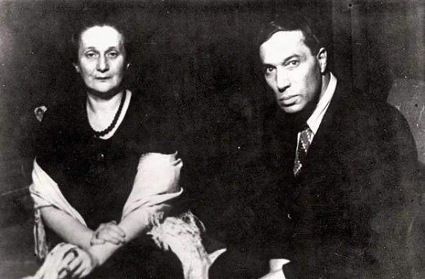 Борис Пастернак и Анна Ахматова