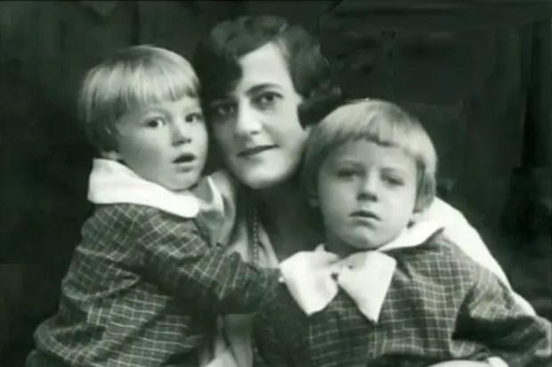 Жена Бориса Пастернака