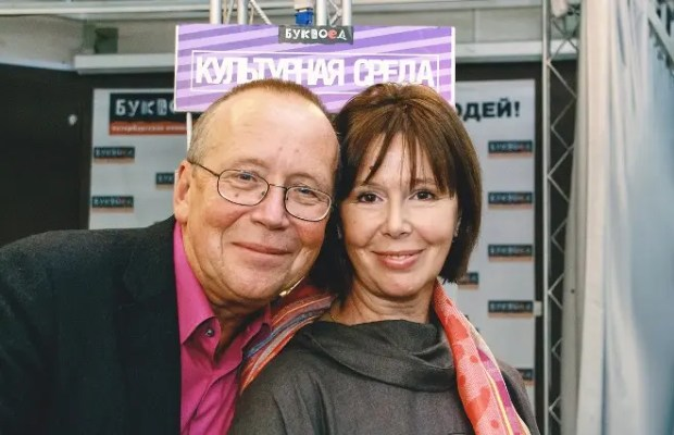 Евгения Симонова с братом