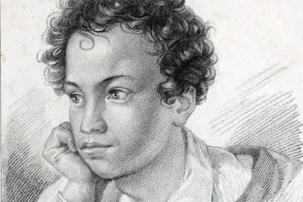 Александр Пушкин в молодости