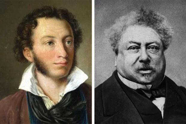 Александр Пушкин и Александр Дюма