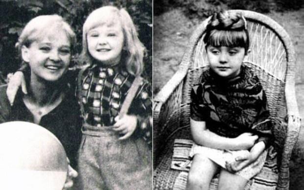 Людмила Гурченко с дочкой