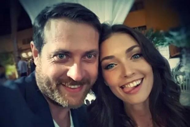 Кирилл Сафонов с дочкой