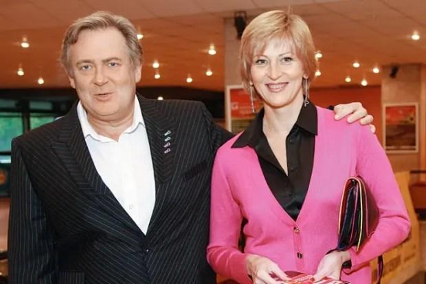 Юрий Стоянов с женой Еленой