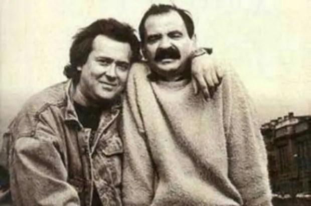 Юрий Стоянов и Илья Олейников