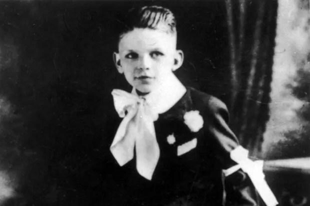 Фрэнк Синатра в детстве