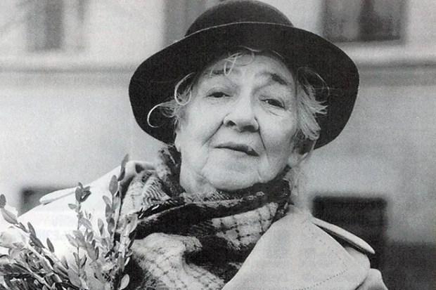 Фаина Раневская в старости