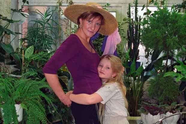 Елена Проклова с дочерью Полиной
