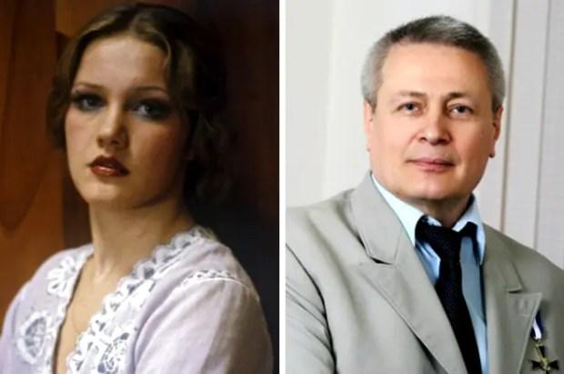 Елена Проклова и Александр Дерябин