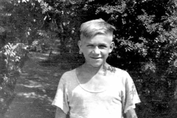 Лев Дуров в детстве