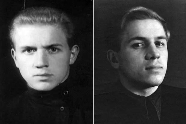 Лев Дуров в юности