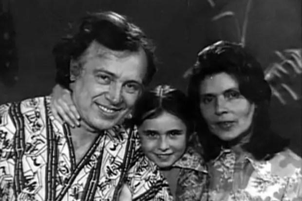 Иннокентий Смоктуновский с семьей