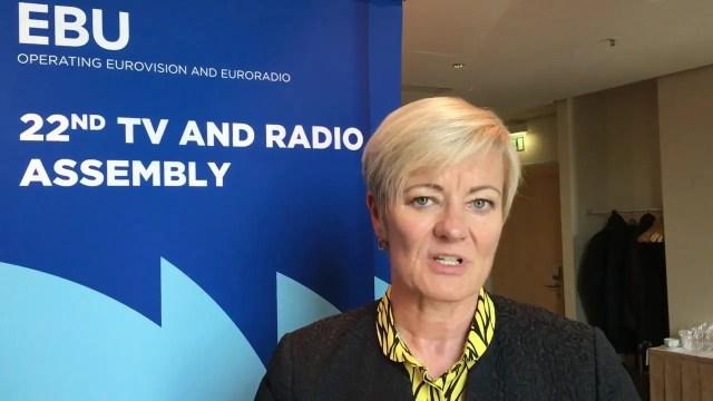 Генеральный директор Европейского вещательного союза Ингрид Делтенре