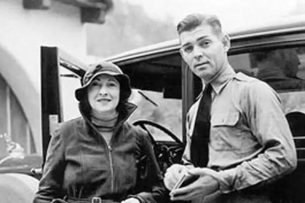 Кларк Гейбл с женой