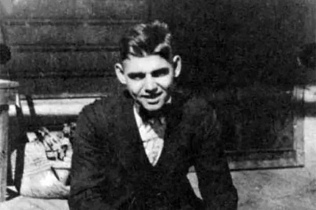 Кларк Гейбл в молодости