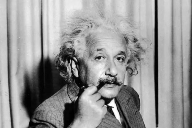 Прическа Альберта Эйнштейна